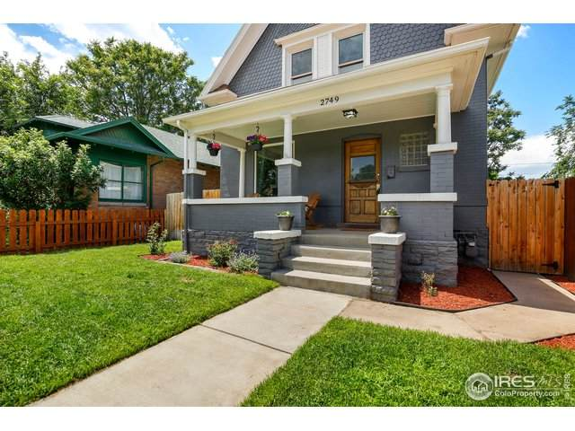 2749 N York St, Denver, CO 80205 (#914170) :: West + Main Homes