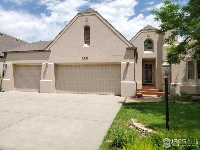 4441 Chateau Dr, Loveland, CO 80538 (MLS #914242) :: Colorado Home Finder Realty