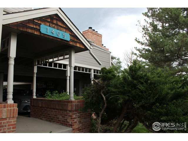1405 Broadway #312, Boulder, CO 80302 (MLS #914495) :: Hub Real Estate