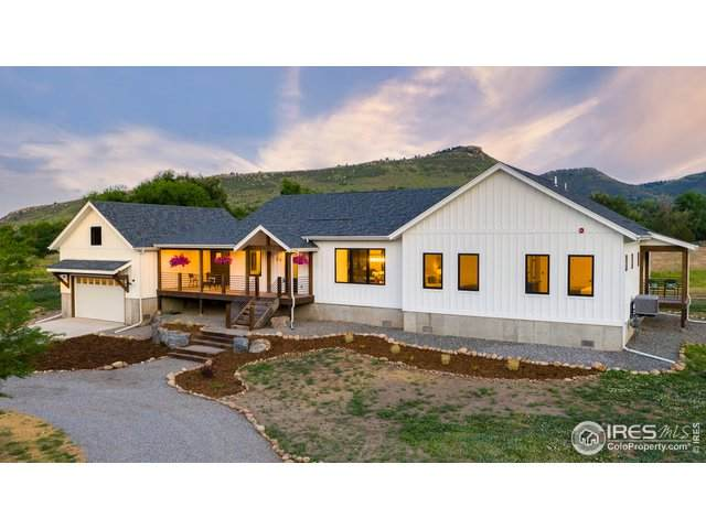 74 County Road 69, Lyons, CO 80540 (#915585) :: Re/Max Structure