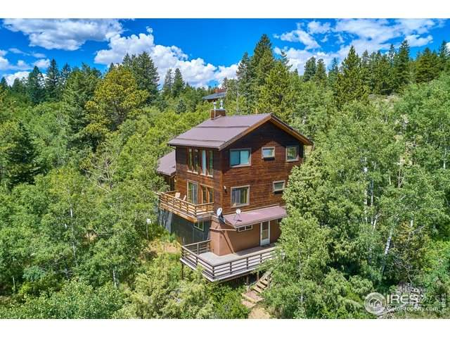3036 Ridge Rd, Nederland, CO 80466 (#916586) :: Peak Properties Group