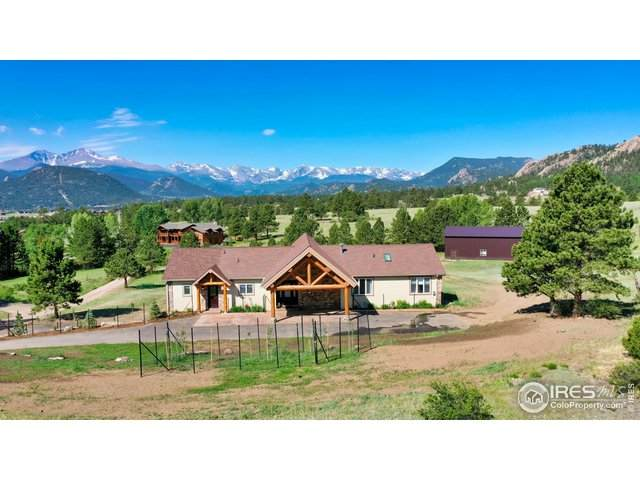 2160 Ridge Rd, Estes Park, CO 80517 (#916764) :: The Griffith Home Team