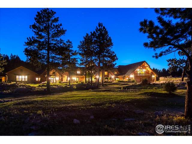 1260 Twin Sisters Rd, Nederland, CO 80466 (#916825) :: Peak Properties Group