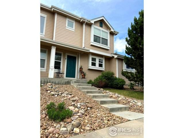 703 Crown Ridge Ln #2, Fort Collins, CO 80525 (#916892) :: My Home Team