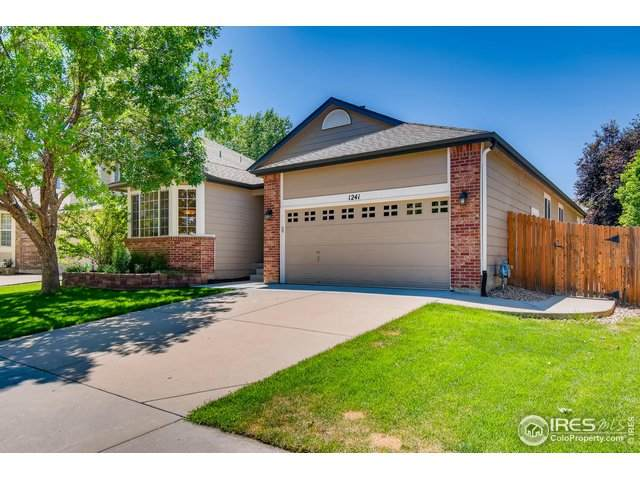1241 Button Rock Dr, Longmont, CO 80504 (MLS #916992) :: Colorado Home Finder Realty