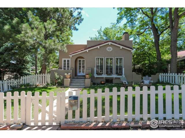 836 9th St, Boulder, CO 80302 (MLS #917007) :: Wheelhouse Realty