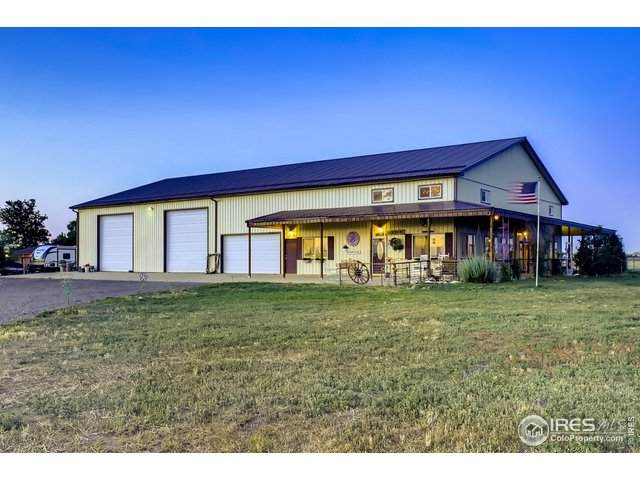 3706 County Road 29, Fort Lupton, CO 80621 (#917380) :: The Dixon Group