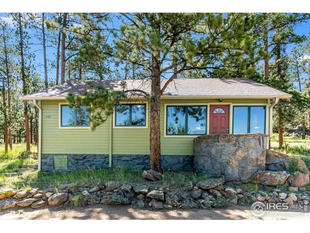 806 Riverside Dr, Estes Park, CO 80517 (#917393) :: The Dixon Group