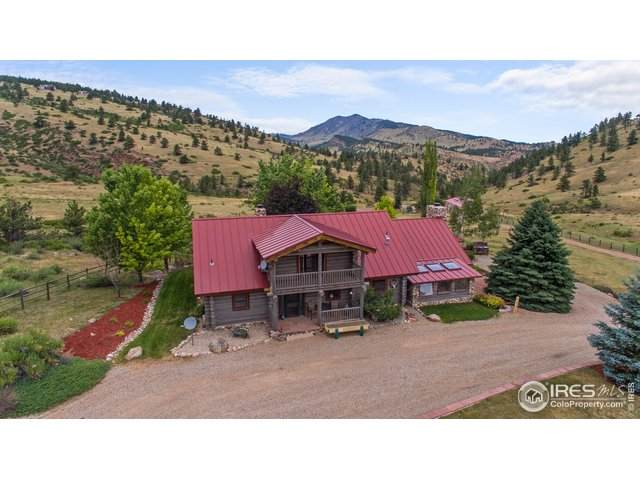 701 Indian Mountain Rd, Longmont, CO 80503 (#917569) :: The Griffith Home Team
