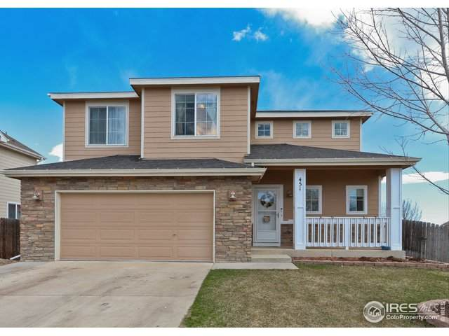 451 Heritage Ln, Johnstown, CO 80534 (MLS #918028) :: Fathom Realty