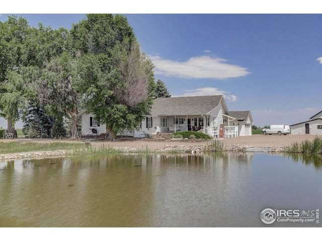 11656 County Road 72, Severance, CO 80615 (MLS #918286) :: Tracy's Team