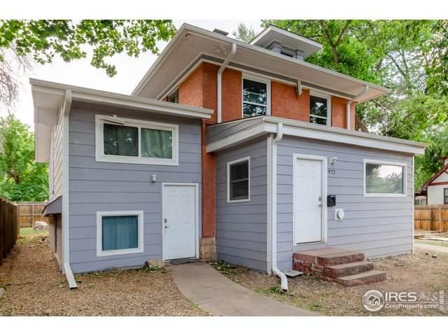 972 Pleasant St, Boulder, CO 80302 (MLS #919287) :: J2 Real Estate Group at Remax Alliance