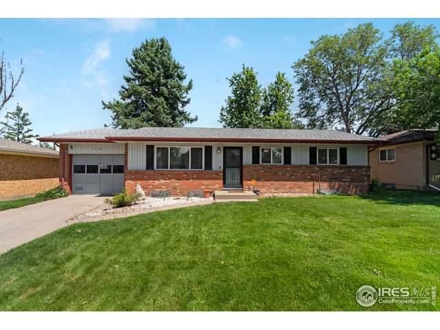 1510 31st Ave, Greeley, CO 80634 (MLS #919397) :: 8z Real Estate