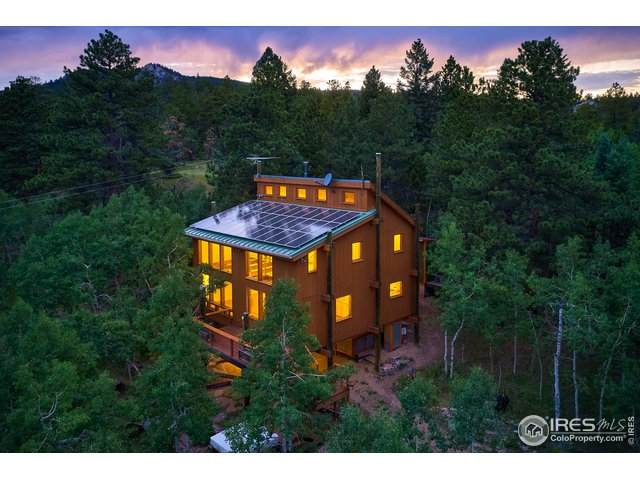 198 Range Rd, Nederland, CO 80466 (MLS #919608) :: 8z Real Estate