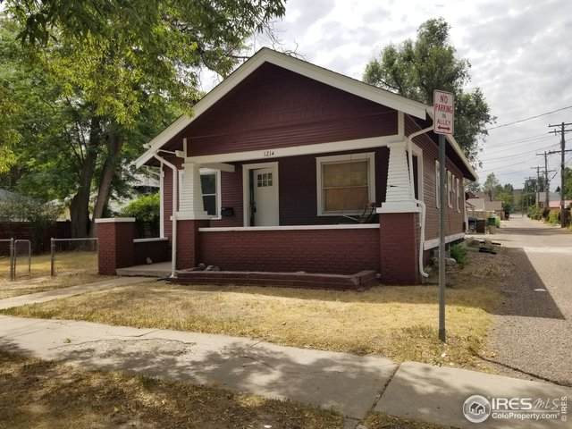 1214 19th St, Greeley, CO 80631 (MLS #919978) :: Kittle Real Estate