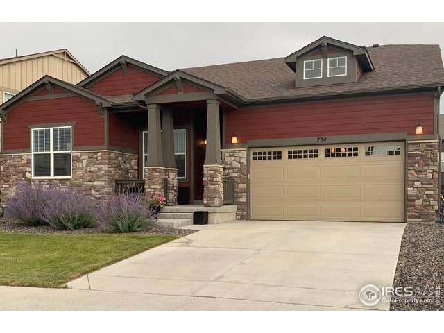 734 Rock Ridge Dr, Lafayette, CO 80026 (MLS #920079) :: Downtown Real Estate Partners