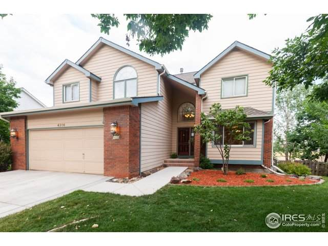 4316 Idledale Dr, Fort Collins, CO 80526 (#920149) :: Peak Properties Group