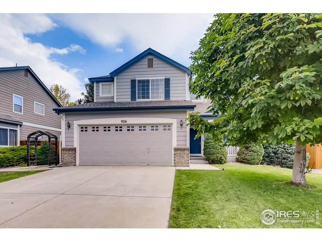 926 Morning Dove Dr, Longmont, CO 80504 (MLS #920489) :: Colorado Home Finder Realty