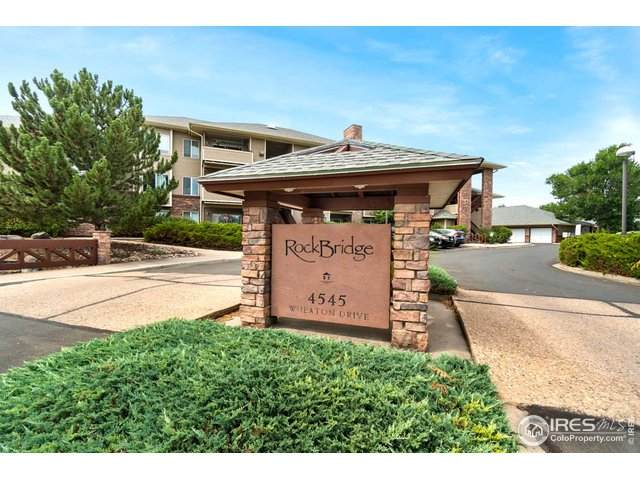4545 Wheaton Dr #160, Fort Collins, CO 80525 (#920520) :: Realty ONE Group Five Star