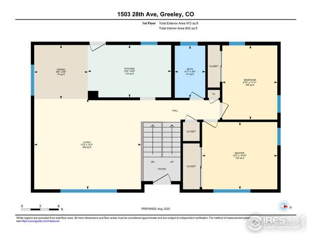 1503 28th Ave, Greeley, CO 80634 (MLS #920885) :: Hub Real Estate