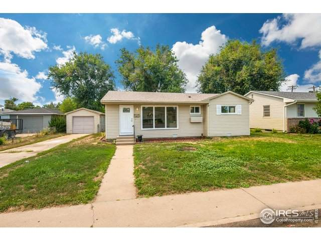 1007 31st Ave, Greeley, CO 80634 (MLS #921440) :: 8z Real Estate