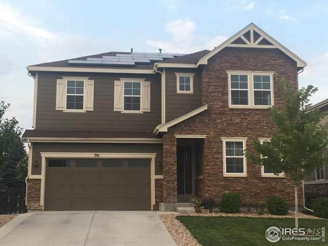 741 Old Wagon Trail Cir, Lafayette, CO 80026 (MLS #921602) :: 8z Real Estate
