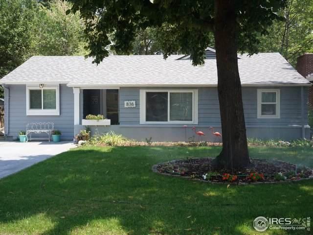 836 Vivian St, Longmont, CO 80501 (MLS #921608) :: Downtown Real Estate Partners