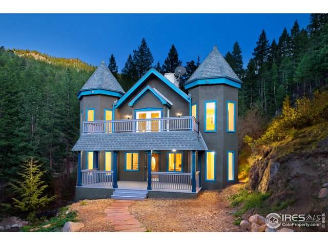 178 Glendale Gulch Rd, Jamestown, CO 80455 (MLS #922221) :: Jenn Porter Group