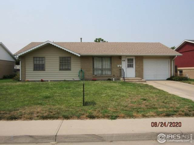 419 S Lake St, Fort Morgan, CO 80701 (MLS #922276) :: 8z Real Estate