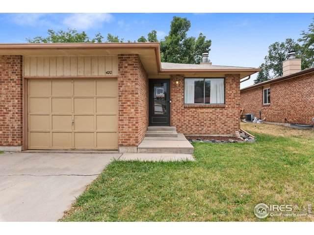 420 E 22nd Pl, Loveland, CO 80538 (MLS #922475) :: J2 Real Estate Group at Remax Alliance