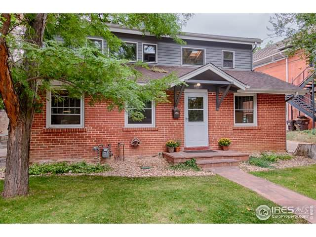 1040 Aurora Ave, Boulder, CO 80302 (MLS #922623) :: Wheelhouse Realty