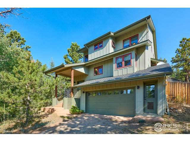 125 Ranch Rd, Ward, CO 80481 (MLS #923570) :: 8z Real Estate