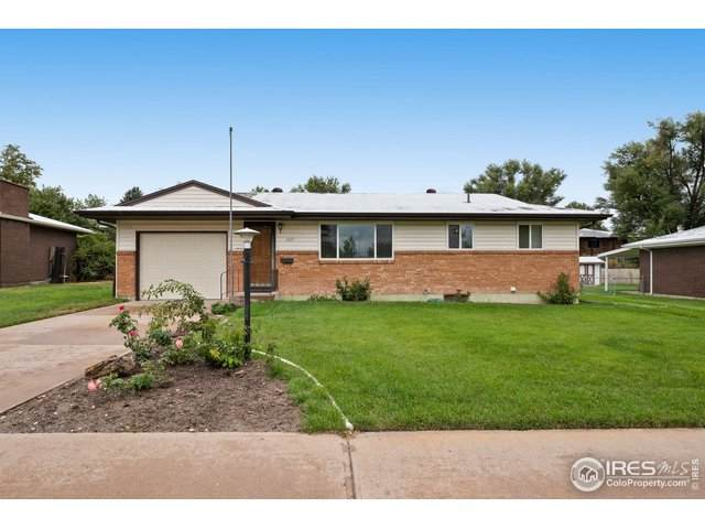 1527 29th Ave, Greeley, CO 80634 (MLS #924029) :: Wheelhouse Realty