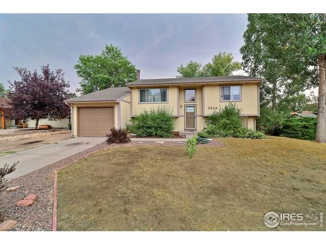 3514 Lilac Ln, Evans, CO 80620 (#924289) :: The Brokerage Group
