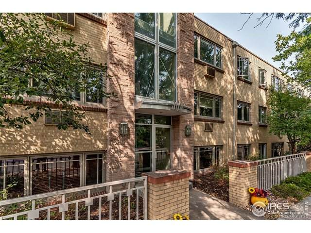 969 S Pearl St #101, Denver, CO 80209 (MLS #924455) :: RE/MAX Alliance