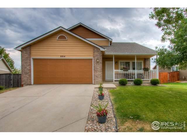 884 Kaitlyn Cir, Loveland, CO 80537 (#924687) :: Kimberly Austin Properties