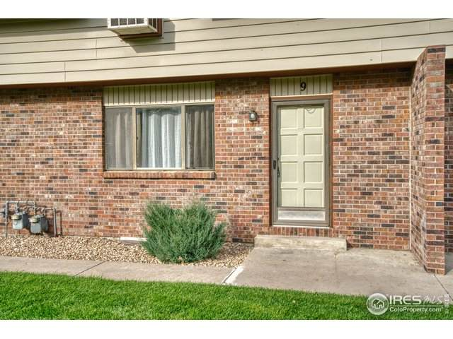 2701 W 19th St Dr #9, Greeley, CO 80634 (MLS #924730) :: RE/MAX Alliance