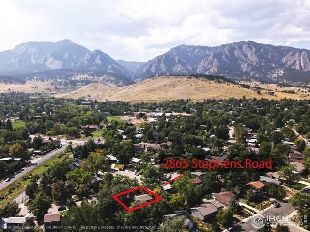 2865 Stephens Rd, Boulder, CO 80305 (#924976) :: James Crocker Team