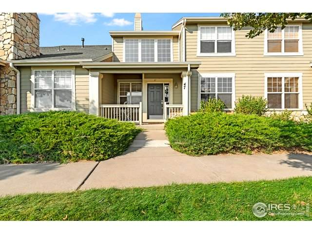 6608 W 3rd St #47, Greeley, CO 80634 (MLS #925256) :: Downtown Real Estate Partners