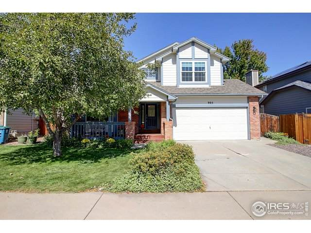 905 W Chestnut Cir, Louisville, CO 80027 (MLS #925354) :: Hub Real Estate