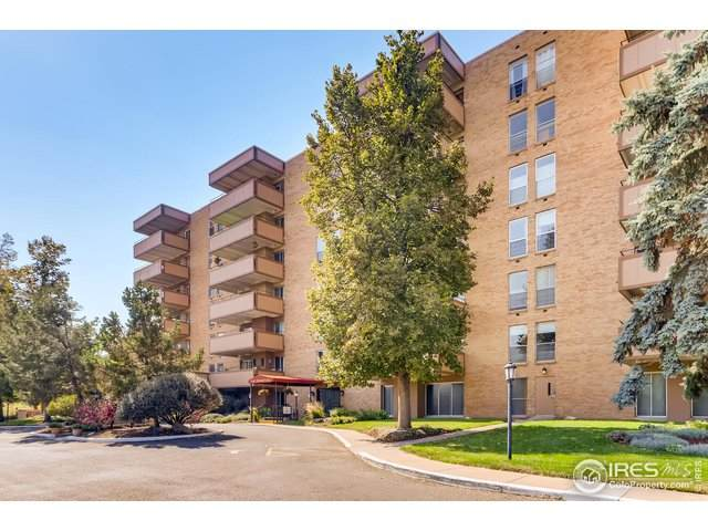 500 Mohawk Dr #301, Boulder, CO 80303 (MLS #925519) :: Downtown Real Estate Partners