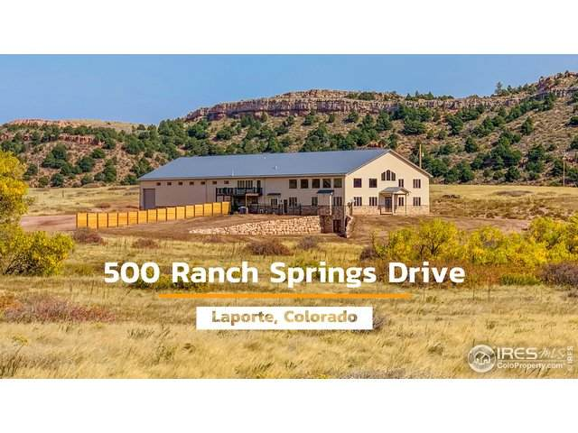 500 Ranch Springs Rd, Laporte, CO 80535 (MLS #926482) :: Hub Real Estate