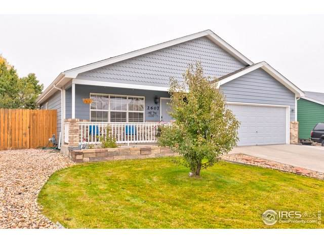 2607 Park View Dr, Evans, CO 80620 (MLS #927002) :: Kittle Real Estate