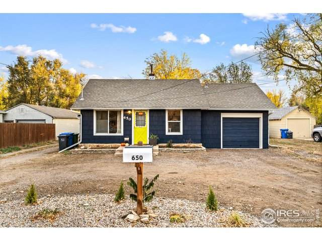 650 W 10th St, Loveland, CO 80537 (MLS #927159) :: The Sam Biller Home Team