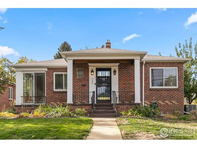 799 Leyden St, Denver, CO 80220 (MLS #927223) :: Downtown Real Estate Partners