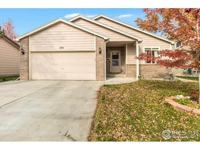 2315 Sapphire St, Loveland, CO 80537 (MLS #927244) :: Kittle Real Estate