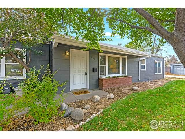 250 Circle Dr, Fort Collins, CO 80524 (#927285) :: The Griffith Home Team