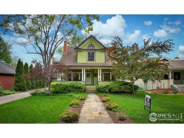 1331 W Mountain Ave, Fort Collins, CO 80521 (#928532) :: Peak Properties Group