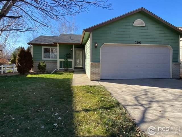2302 Turquoise St, Loveland, CO 80537 (MLS #928632) :: The Sam Biller Home Team
