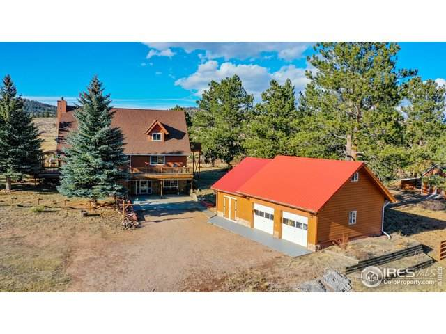 240 Kenosha Mountain Dr, Livermore, CO 80536 (MLS #929297) :: Kittle Real Estate